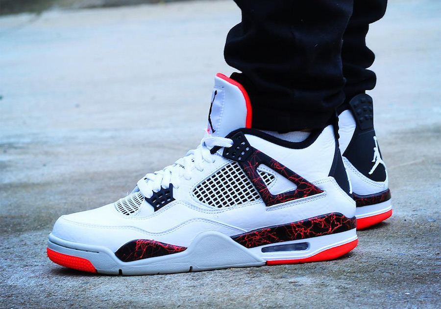 Air Jordan4 Hot Lava releasing on March 2nd.