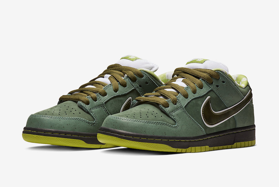 Nike SB×Concepts Green Lobster.