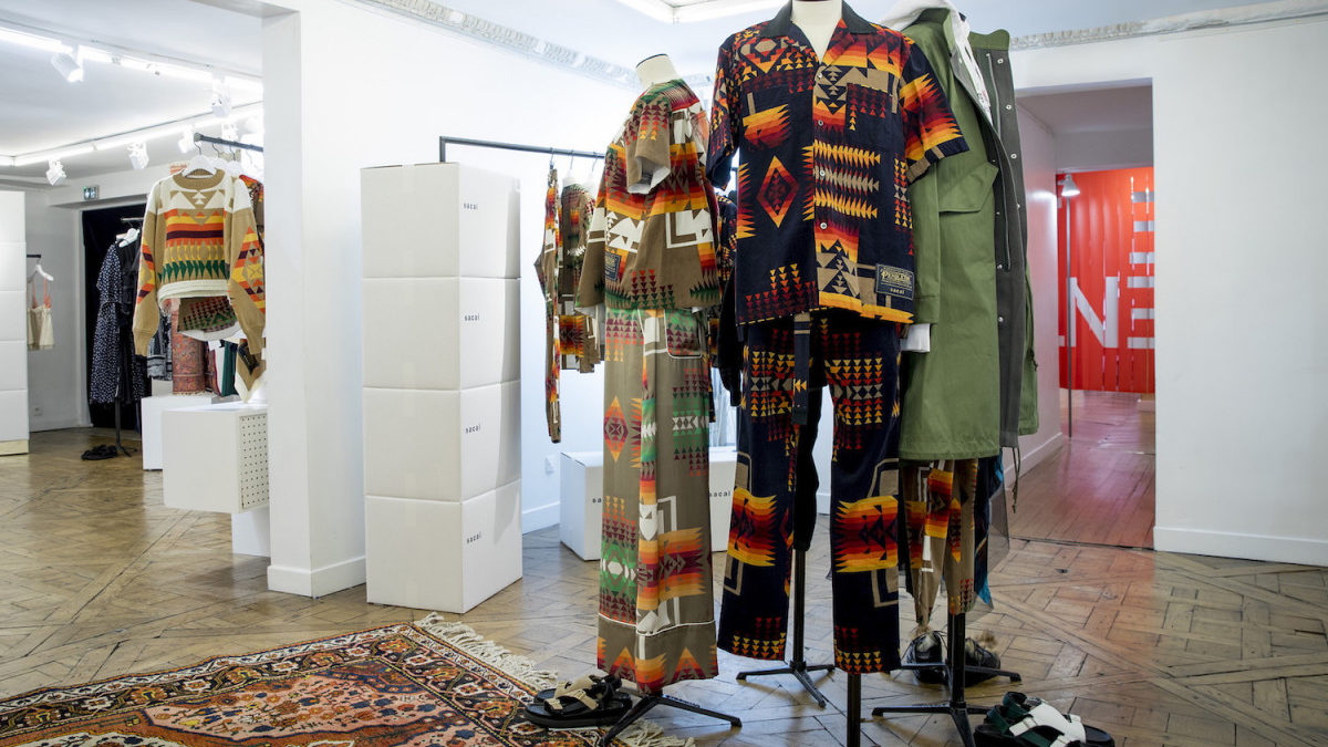Inside look at the Hello Sacai Pop Up Store.