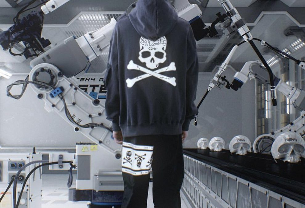 """C2H4® x Mastermind JAPAN """"TX-074"""" Vol.1 releasing on March 30th."""