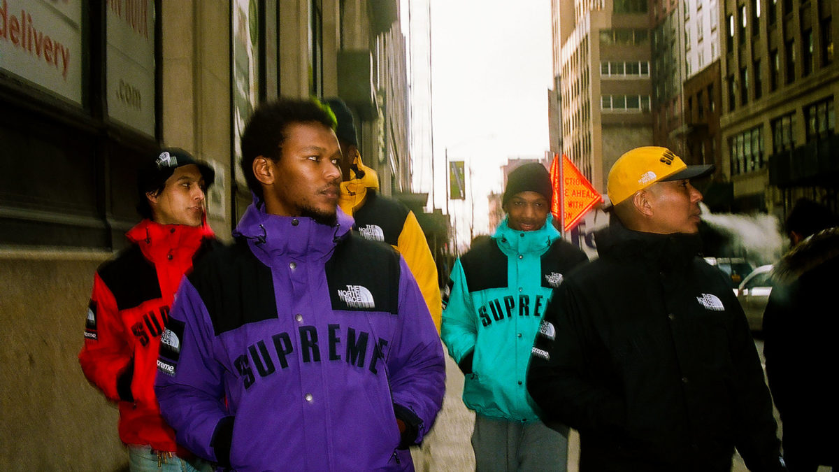 Supreme×The North Face coming this week.