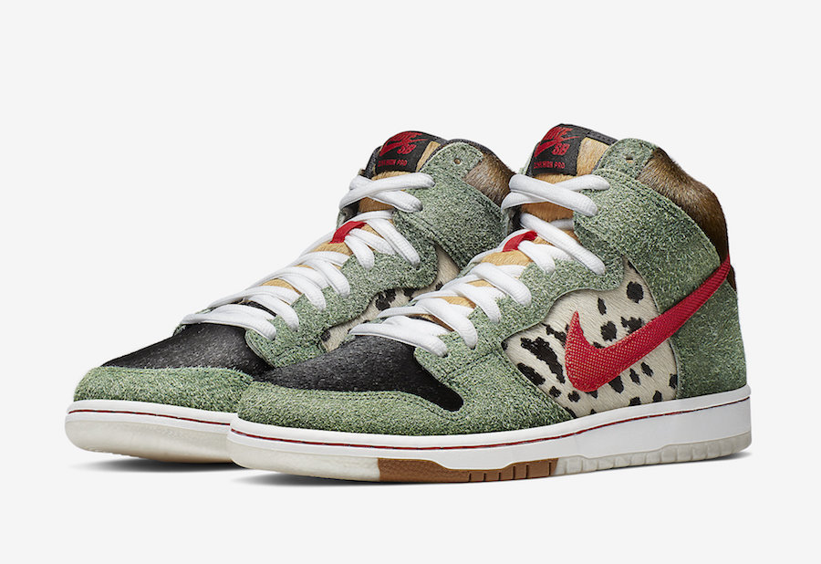 Nike SB Dunk High Dog Walker releasing on April 20th.