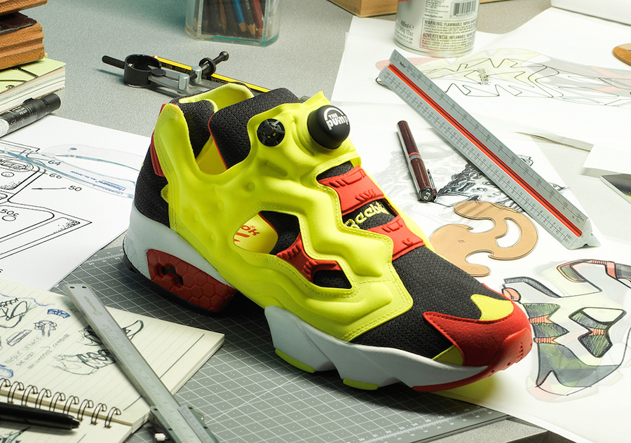 Reebok Insta Pump Fury Citron releasing on March 22nd.
