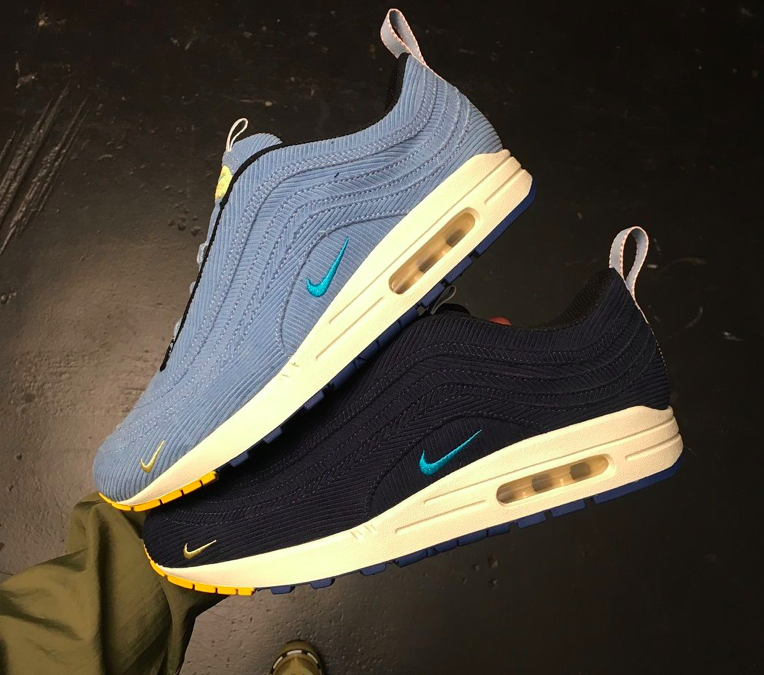 Sean Wotherspoon × Nike End Air Max 1/97 Collaboration.