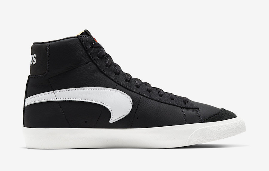 Slam Jam will release Nike Blazer Mid Class 1977 black color way on November 29th.