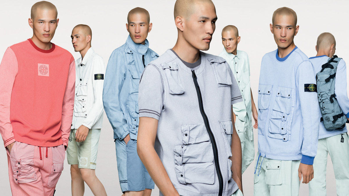 STONE ISLAND PLACCATO Capsule collection available now.