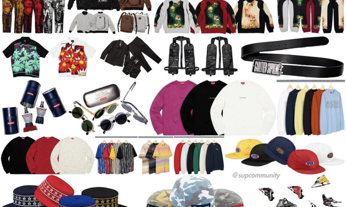 Supreme Spring Summer 2019 Drop List Week 7
