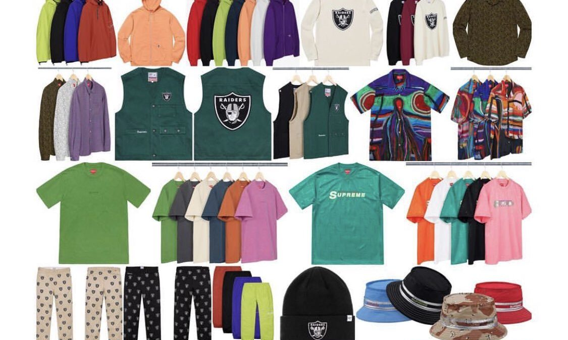 Supreme Spring Simmer 2019 Drop List Week8