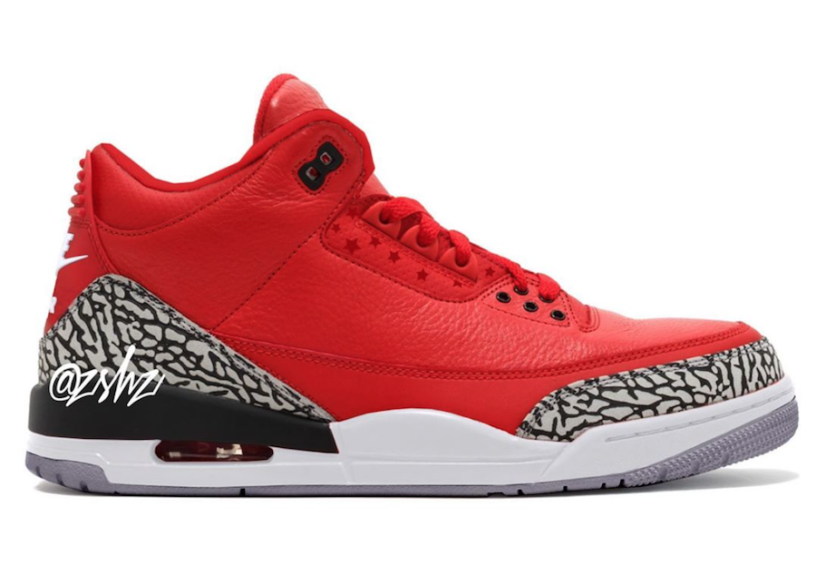 Air Jordan3 Chicago All Star will be available during All-Star Weekend in February 2020
