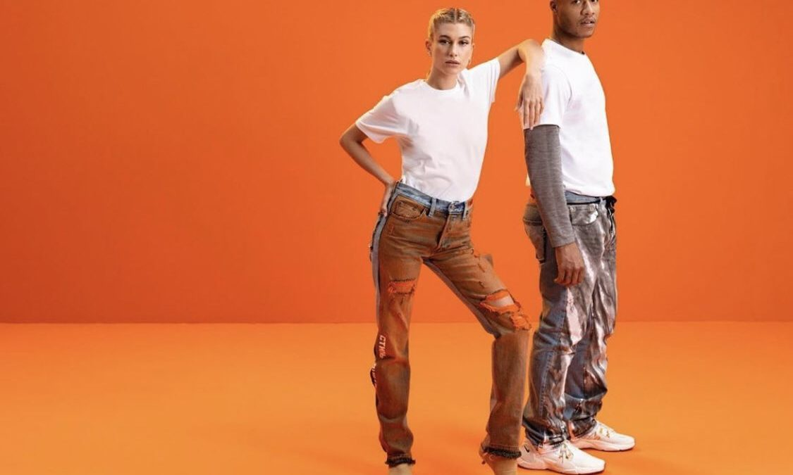 Heron Preston×Levi's availavle now.