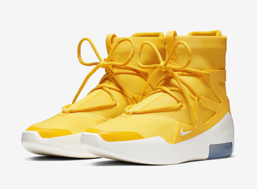 Air Fear of God 1 new colors releasing in July