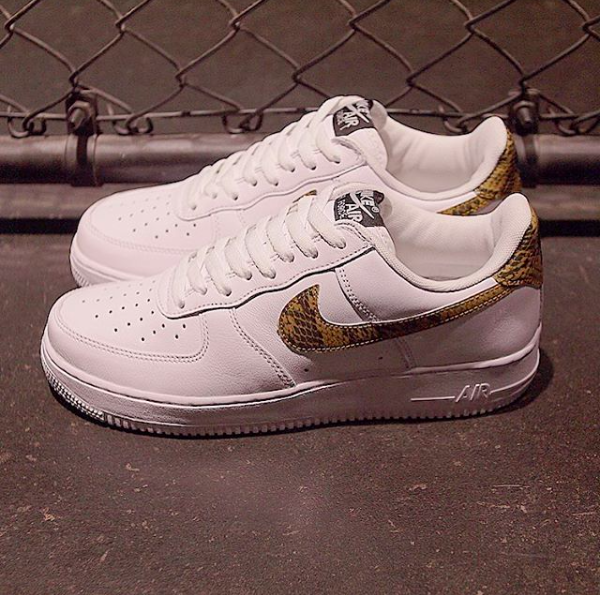 Air Force 1 Low Ivory Snake releasing on May 22nd.