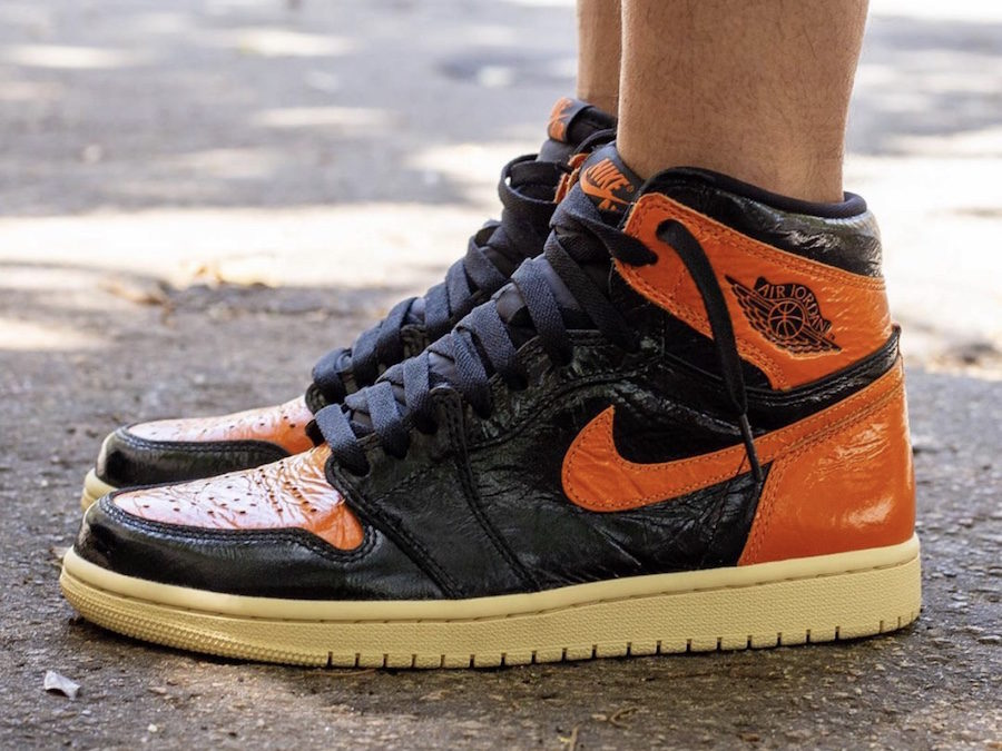 Air Jordan1 Black Shatterd Backboard is expected to release on October 26th.