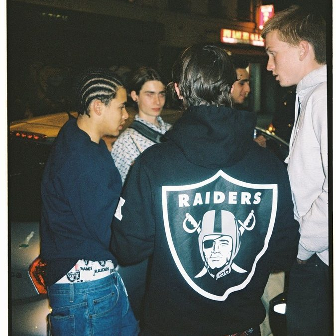Supreme×47×Raiders releasing on June 6th.