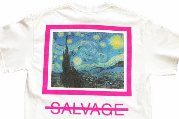 SALVAGE Van Gogh Tee available now.
