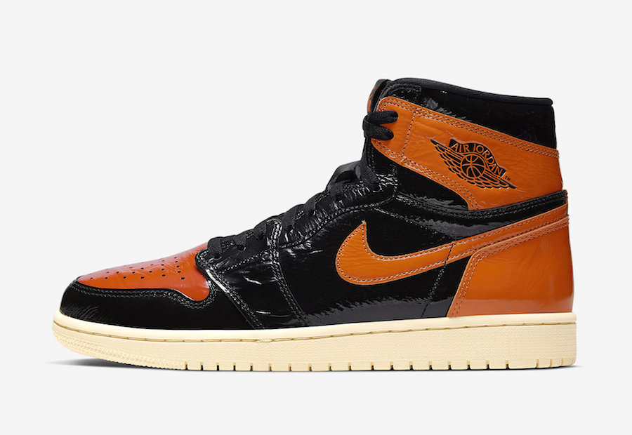 Air Jordan1 Black Shatterd Backboard releasing on October 26th.