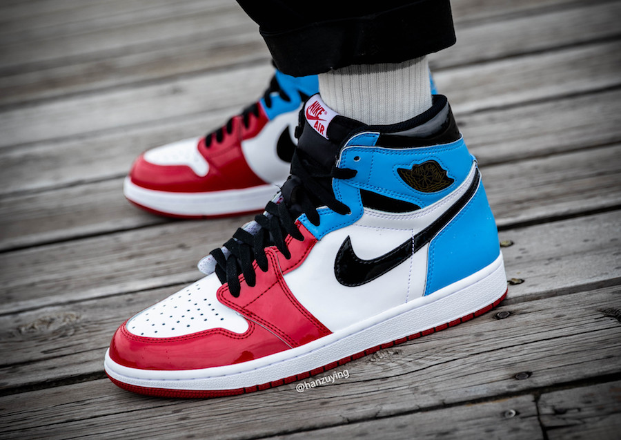 Air Jordan1 UNC to Chicago releasing this holiday 2019 season.