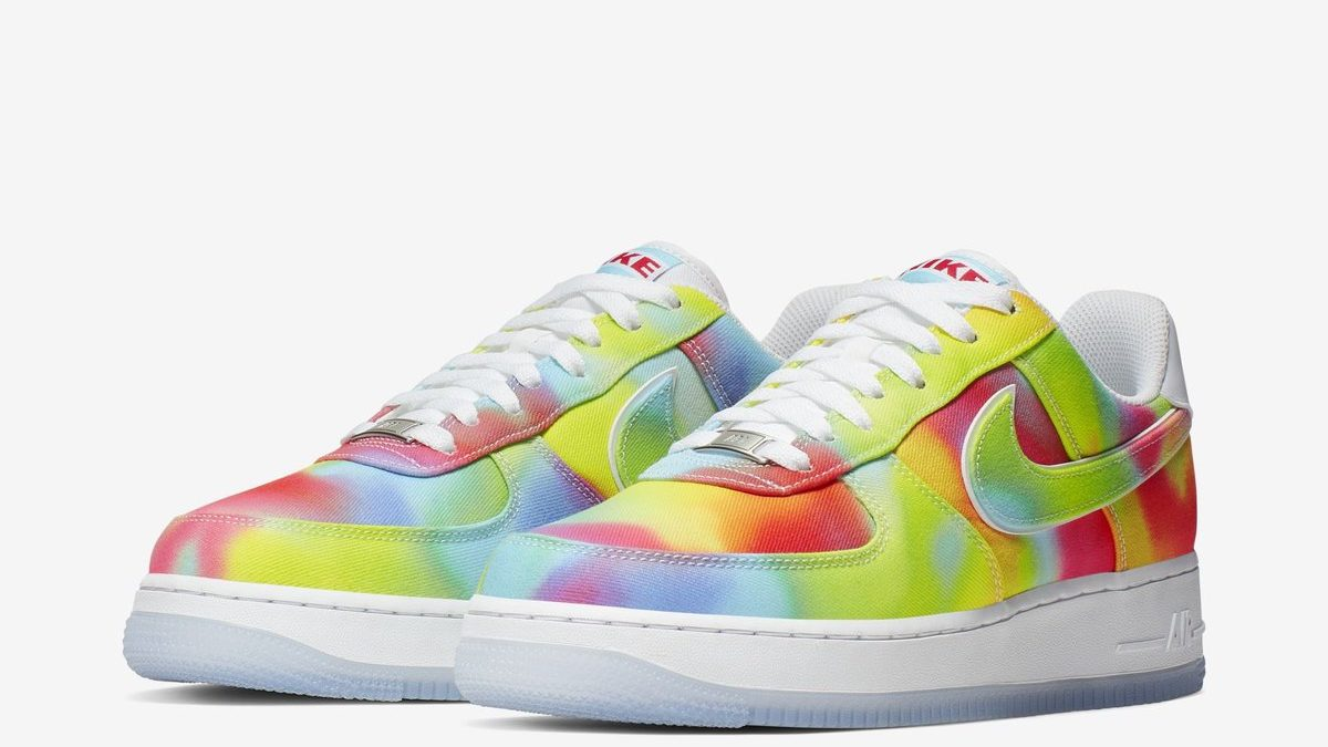 Nike Air Force 1 Tie-Dye/Chicago coming in February.