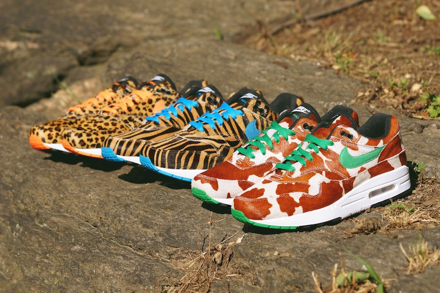 Nike×atmos Air max 1 animal Part 3 releasing on July 20th at ComplexCon Chicago.