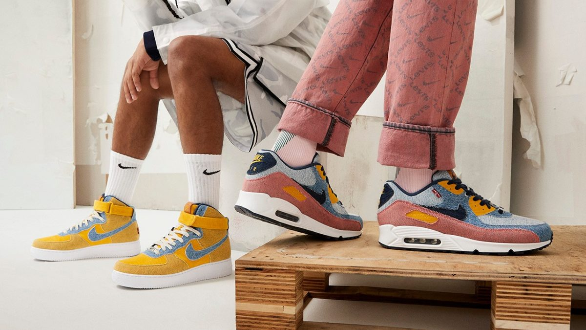 Levi's×Nike releasing on August 5th as Nikeid.