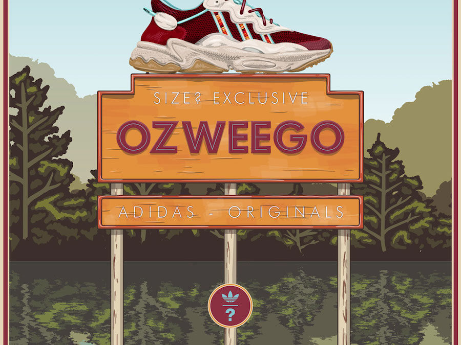 SIZE? ADIDAS OZWEEGO releasing on July 19th.
