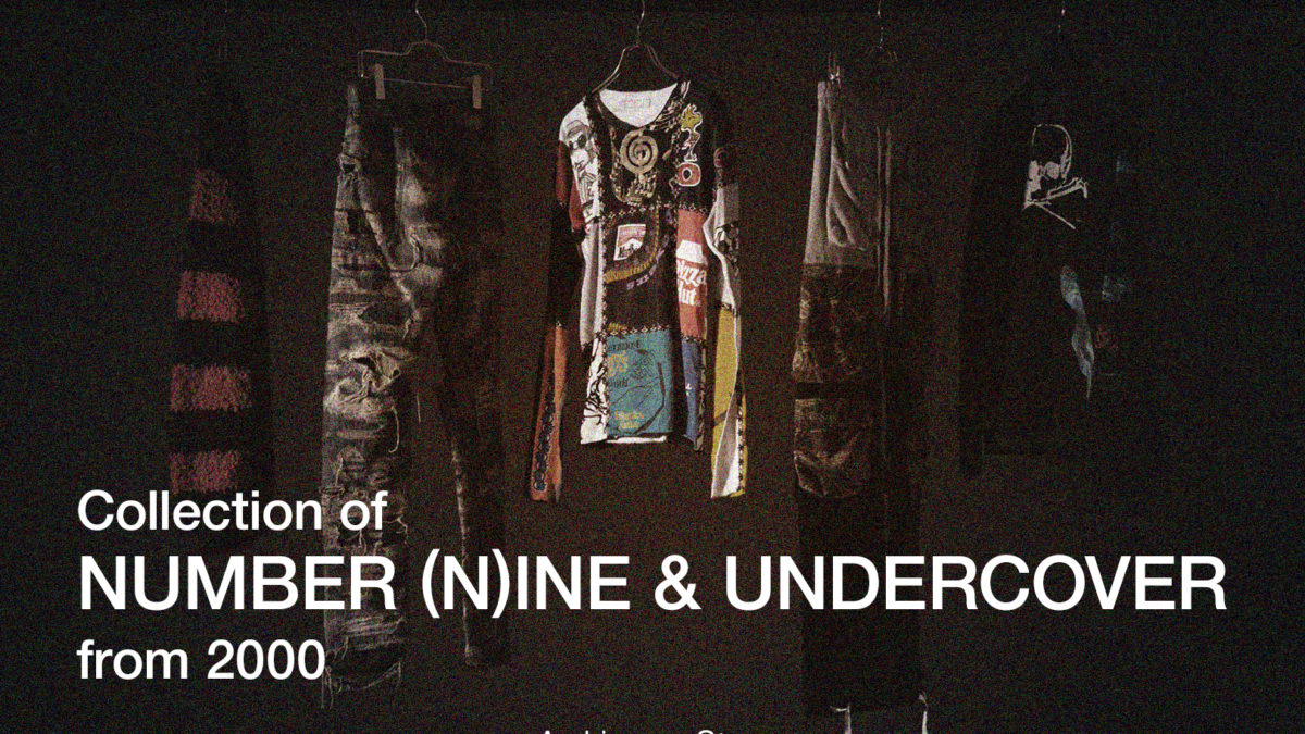 Collection of NUMBER (N)INE andUNDERCOVER from 2000