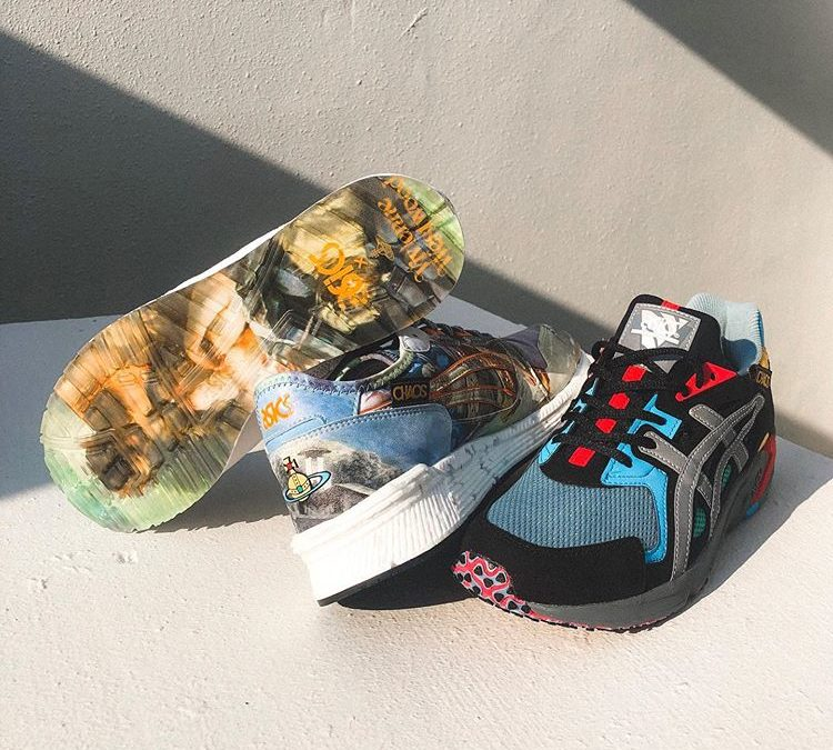 Vivienne Westwood×ASICS releasing on August 17th.