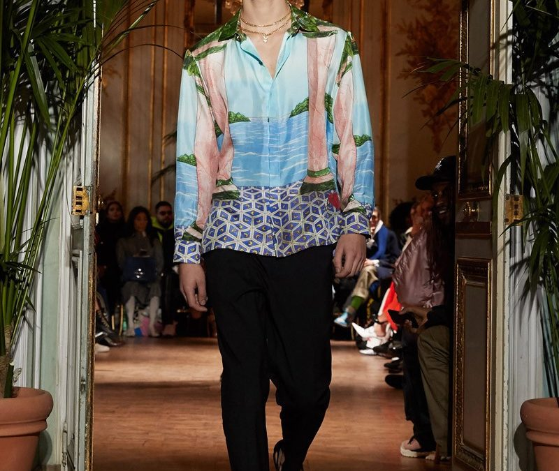 CASABLANCA 2019FW silk shirts are available now.