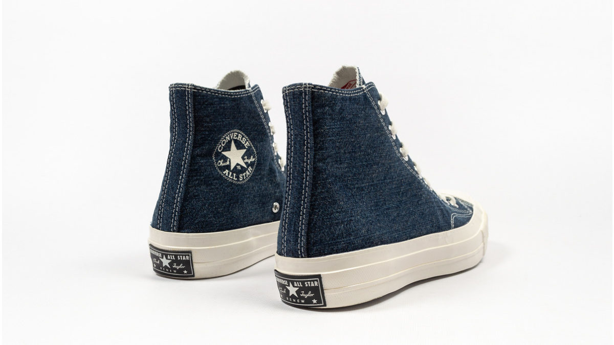 Converse Chuck 70 Renew Denim available now.