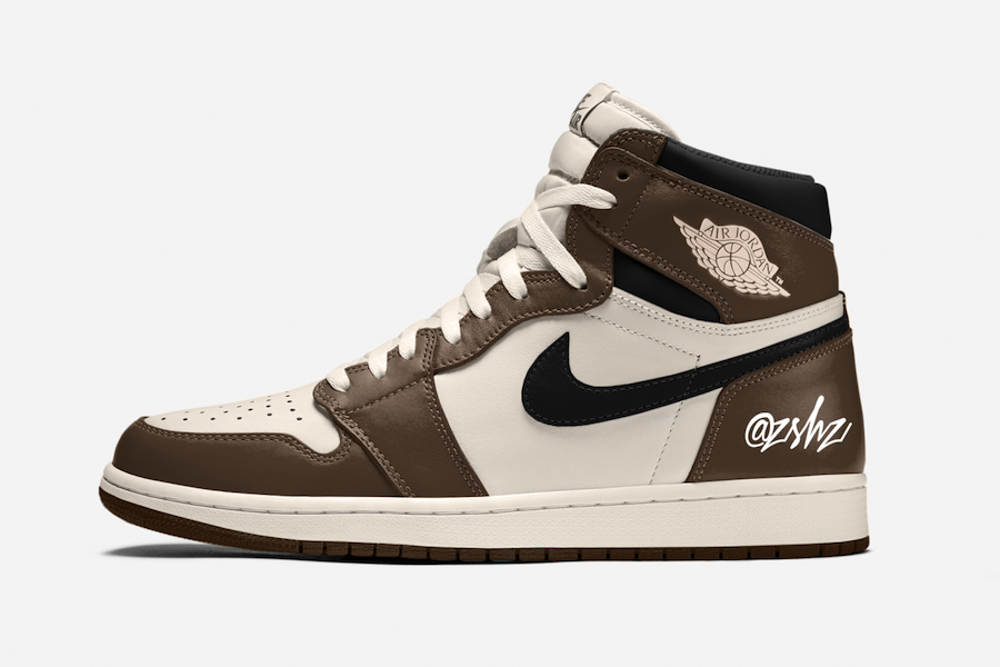Air Jordan1 Dark Mocha releasing in June 2020.