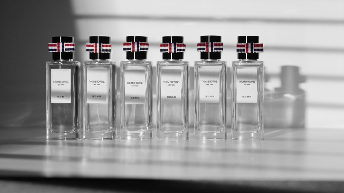 Thom Browne releasing fragrance in October.