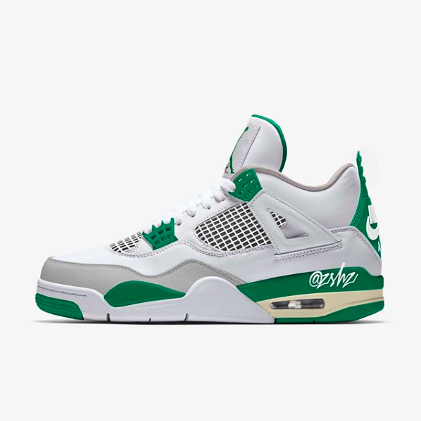 Air Jordan4 Pine Green releasing on August 5th.