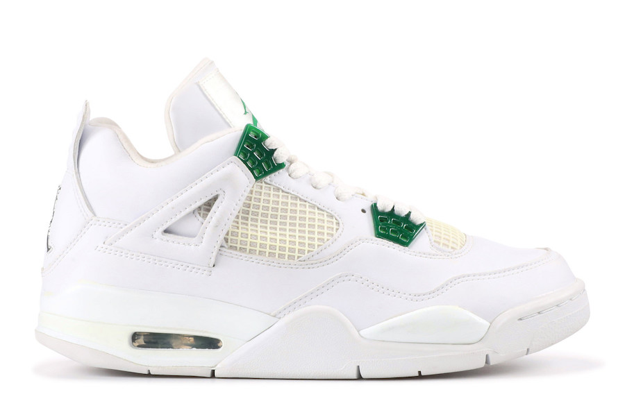 Air Jordan4 Pine Green releasing in Spring 2020.