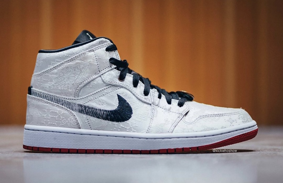 CLOT×Nike Air Jordan 1 mid releasing on December 7th.