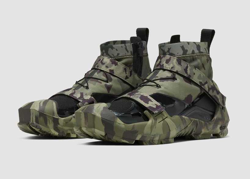 Matthew M. Williams x Nike Free TR 3 SP limited camo available now.