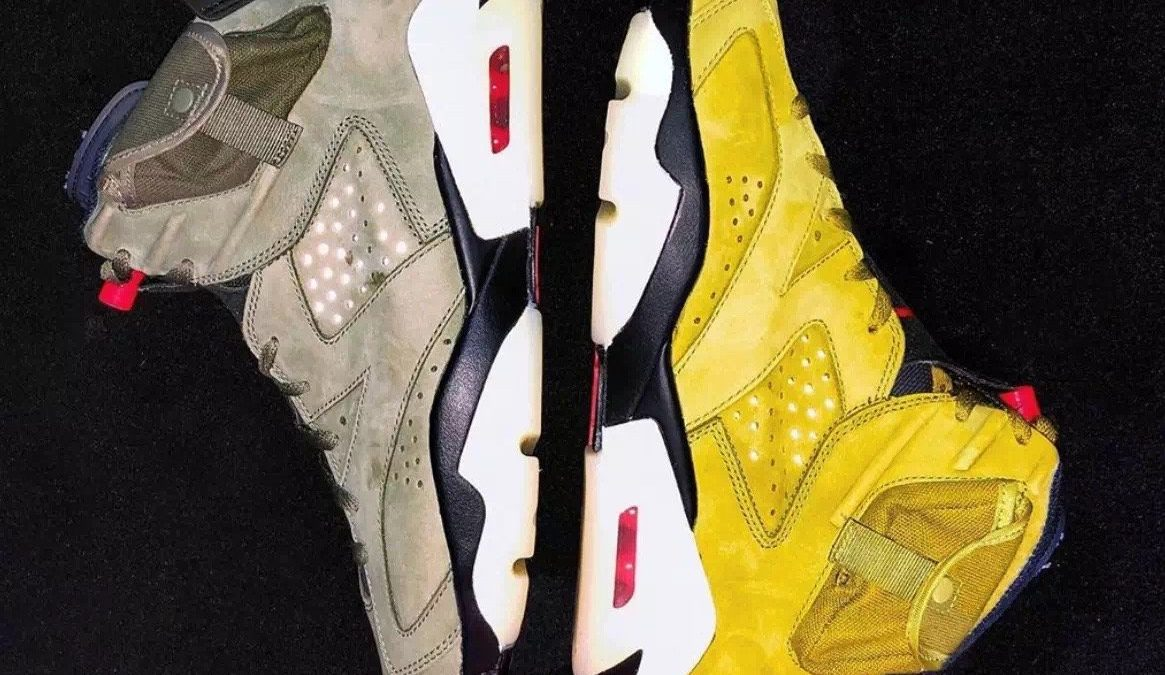 Air Jordan6×Travis Scott Yellow releasing in 2020.
