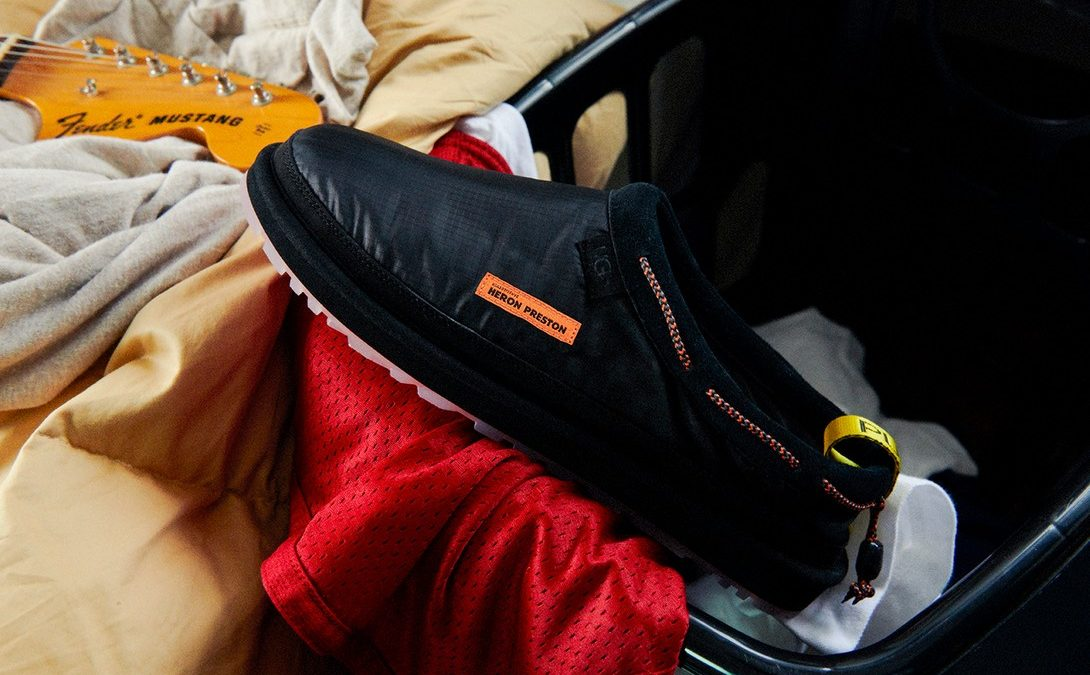 Heron Preston×UGG available now.