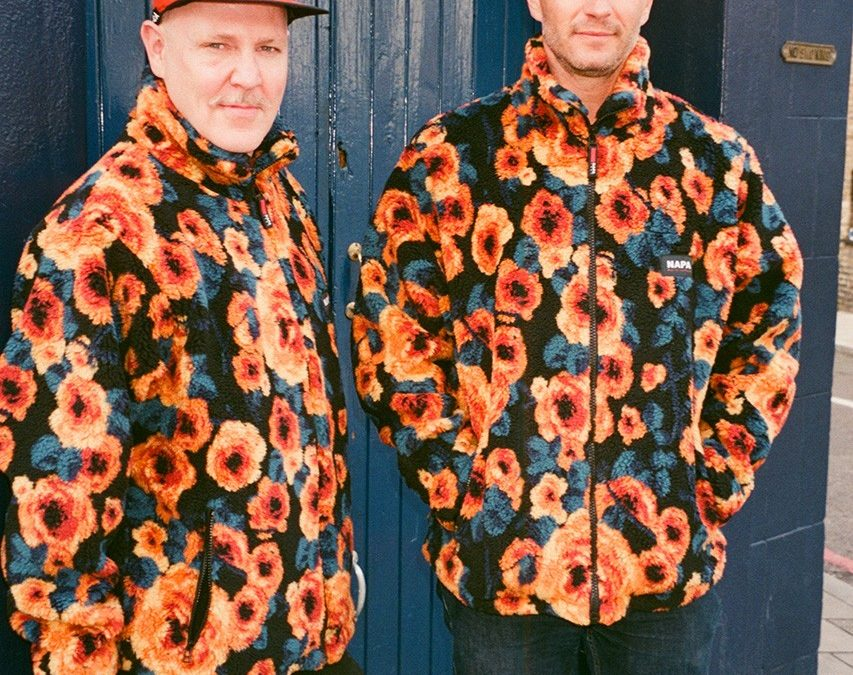 Napa by Martin Rose's flower fleece available now at LN-CC.