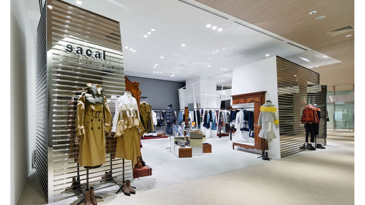 sacai opening new store on November 1st.