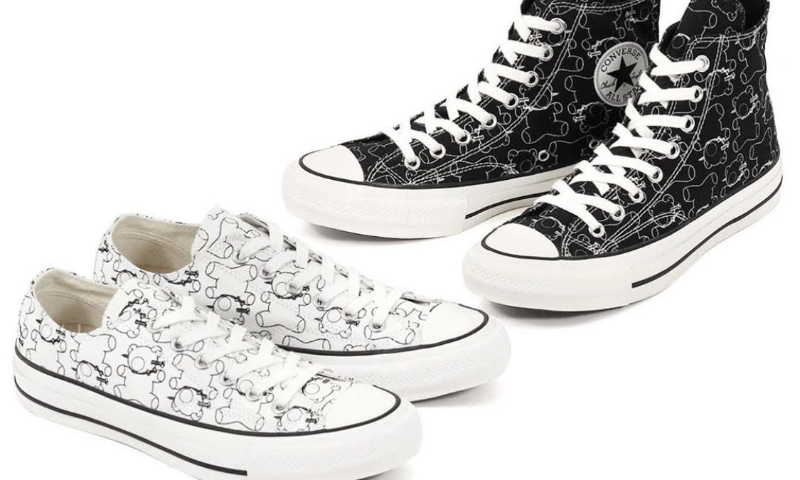 UNDERCOVER×CONVERSE ADDICT CHUCK TAYLOR releasing on October 18th in Japan