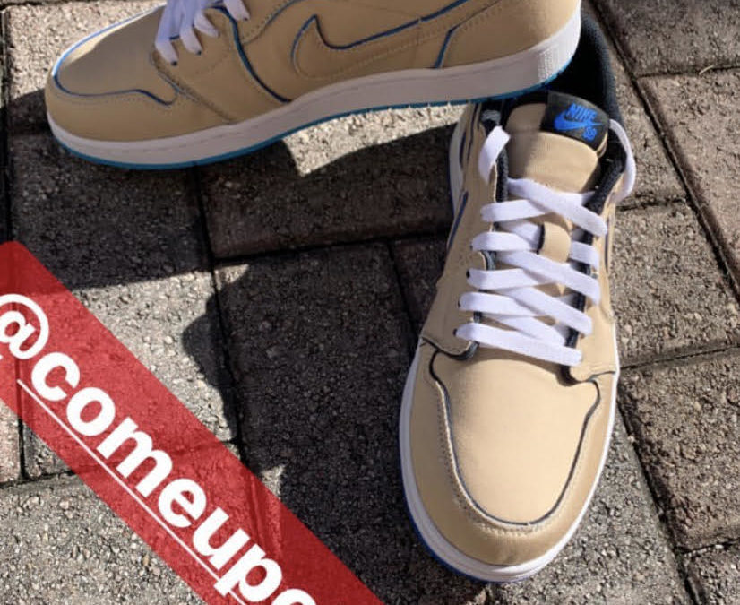 Nike SB×Air Jordan1 Low Desert Ore releasing on December 6th.