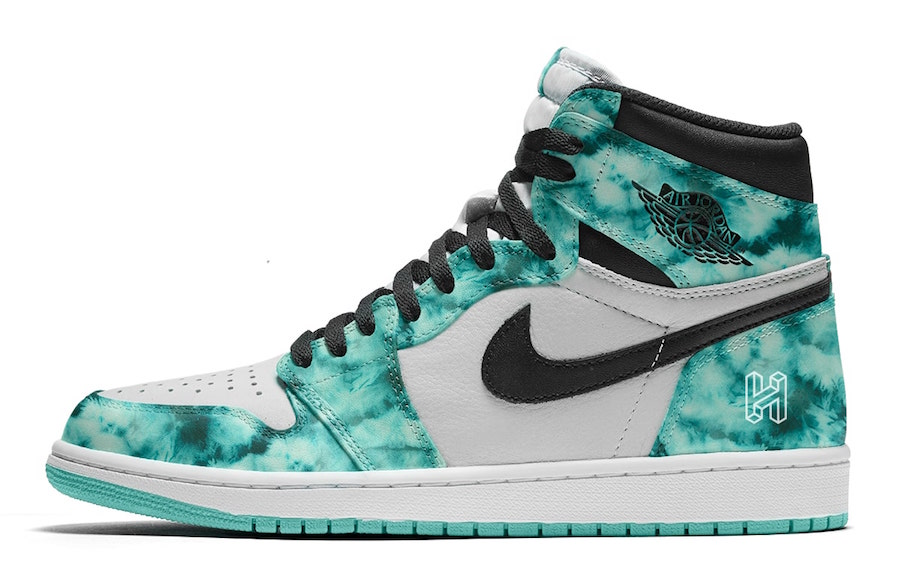Air Jordan1 tie-dye releasing in June 2020.