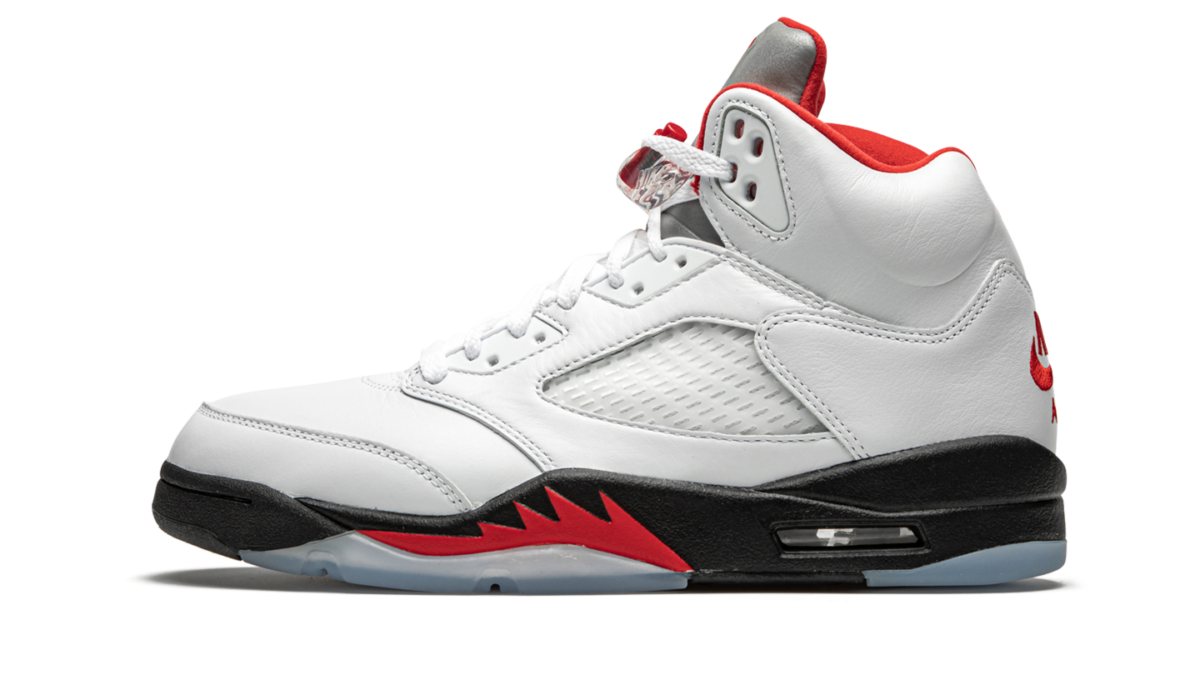 Air Jordan 5 Fire Red releasing on March 28th.
