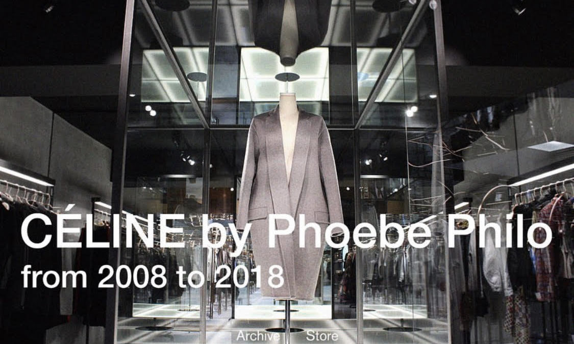 Archive store features Phoebe Philo's Celine.