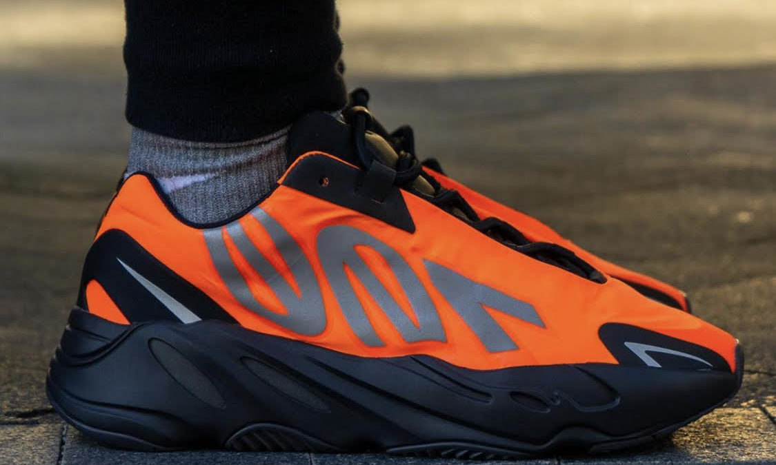 Yeezy Boost 700 MNVN Orange is rumored to release on February 28th.