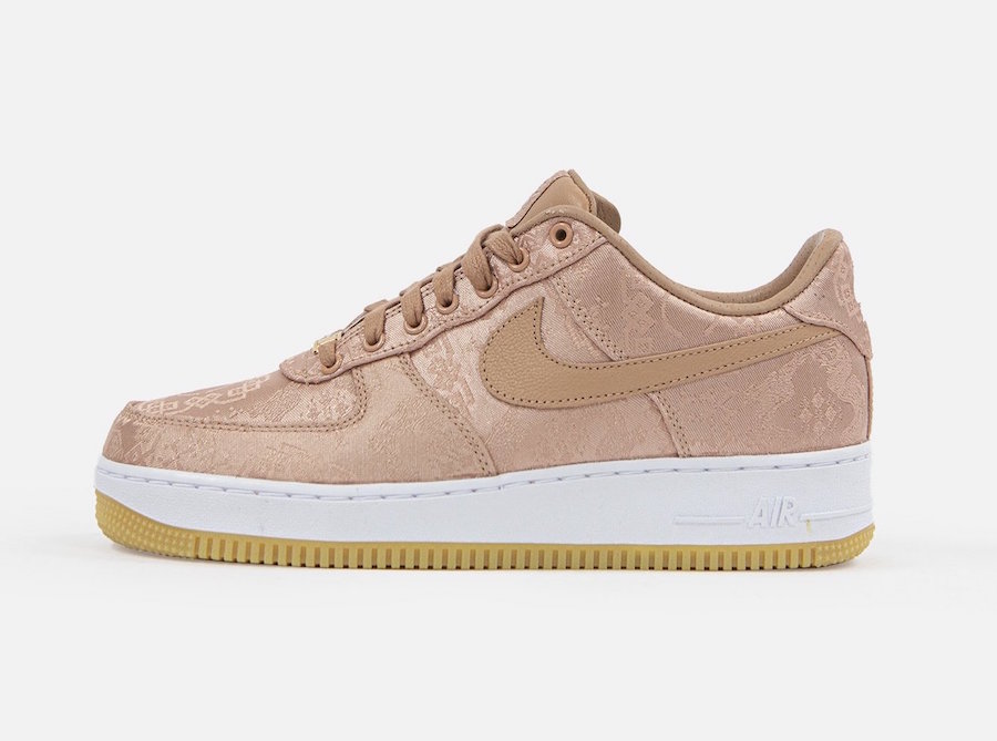 Nike AF1×CLOT Rose Gold releasing on January 21st.