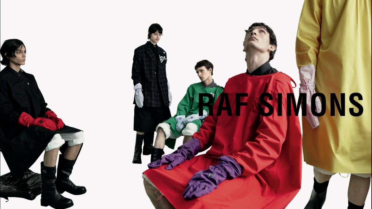 Raf Simons Spring Summer 2020 Collection available now.