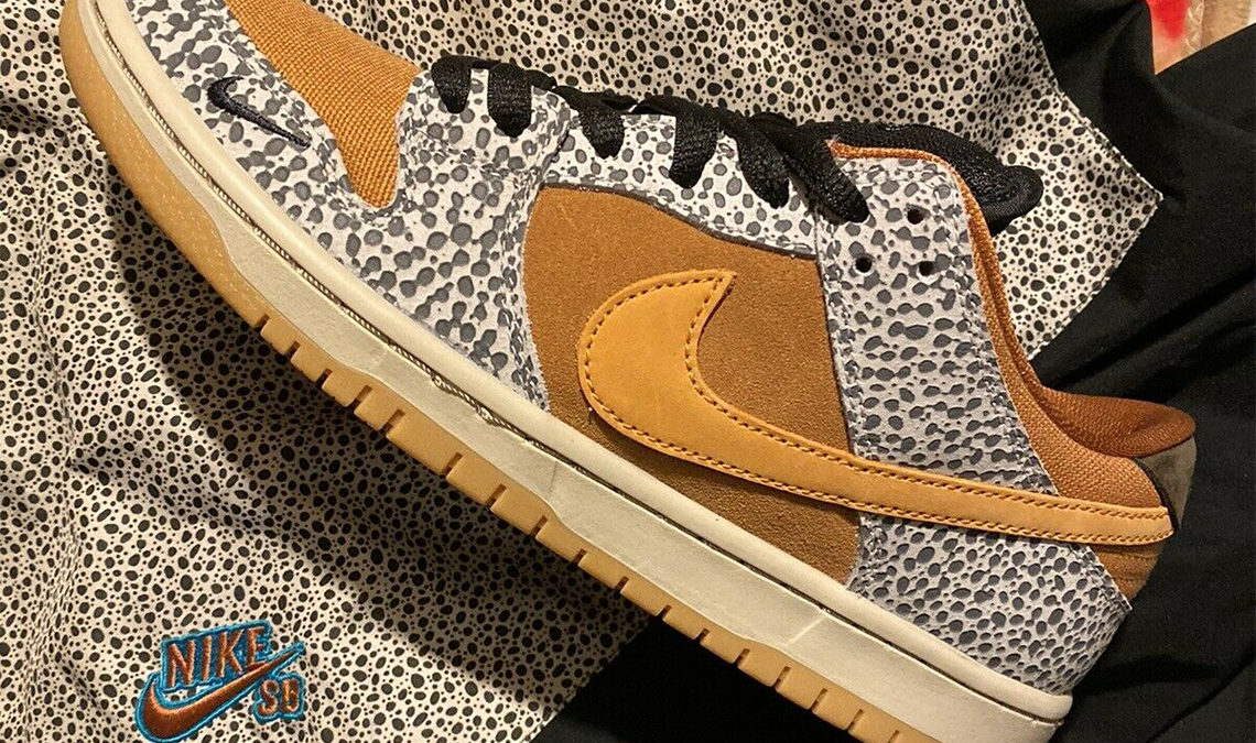 Nike SB Dunk Low Safari releasing on March 14th.