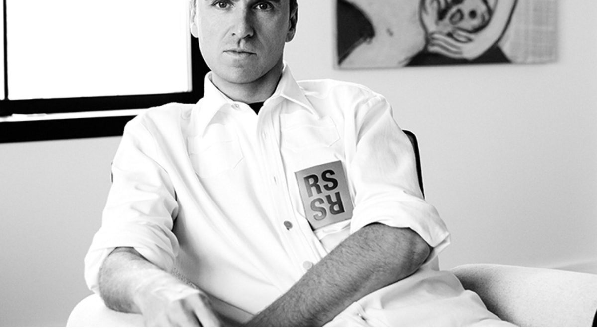 Raf Simons is rumored to moving to Prada.