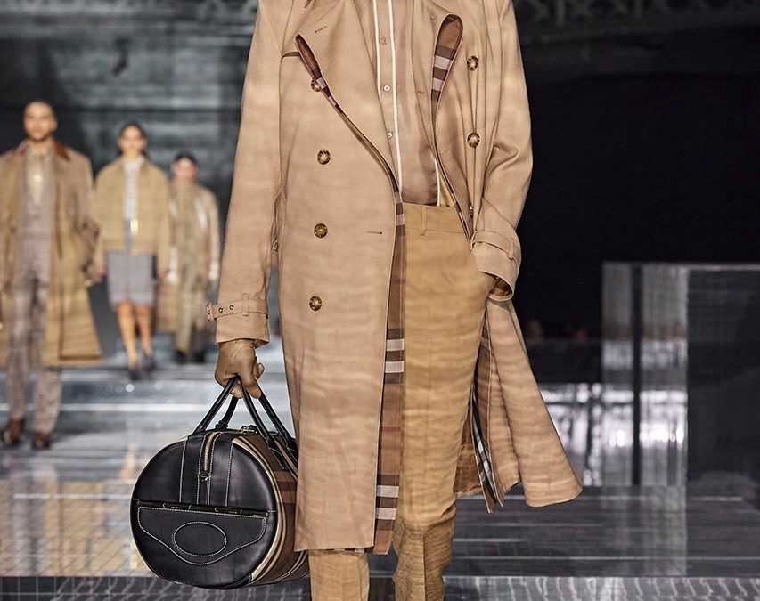 Burberry 2020AW Collection.